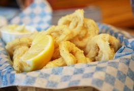 Delicious calamari dishes in Vancouver