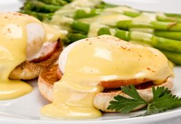 Go hollandaise in Halifax with these eggs Benedict