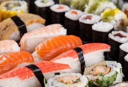Sushi delivery in Victoria