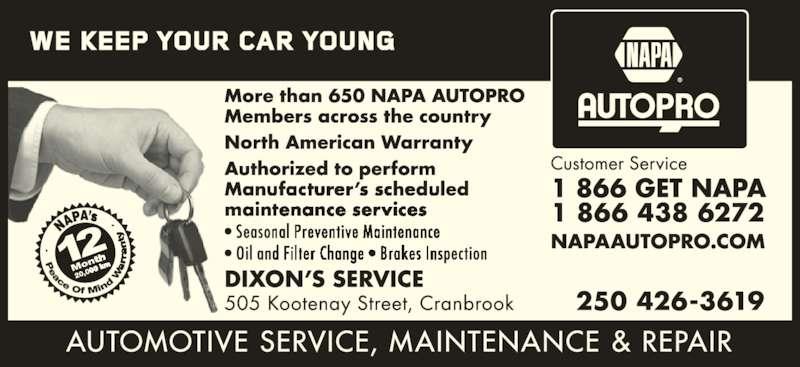 NAPA Autopro (8664386272) - Display Ad -