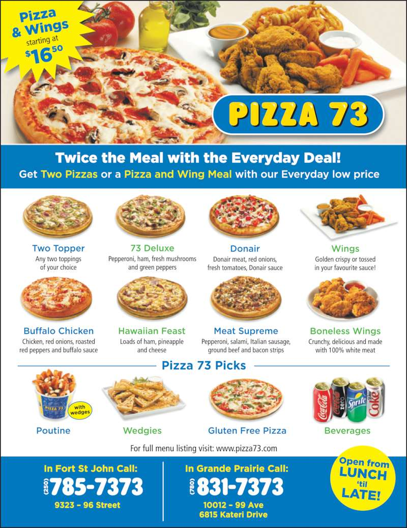 Pizza 73 (7808317373) - Display Ad -