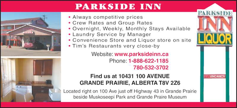 Grande Prairie Hotels With Kitchenettes