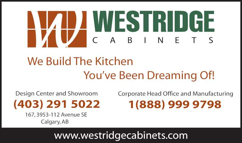 Westridge Cabinets Ltd   Ads
