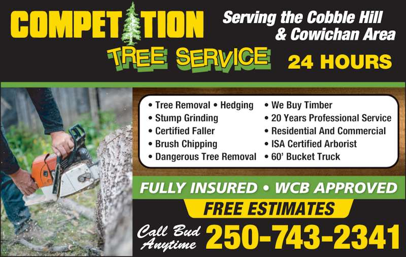 Competition Tree Service Canpages