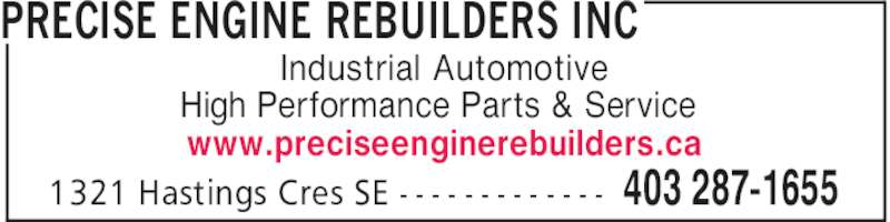 Ads Precise Engine Rebuilders Inc