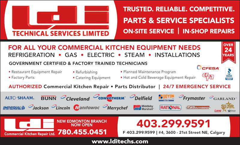 Commercial Equipment Service Specializes In The Repair ...