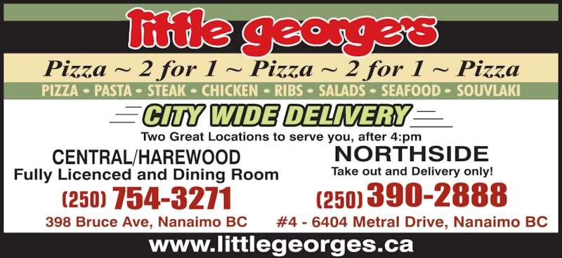 Little George S Restaurant Nanaimo Bc