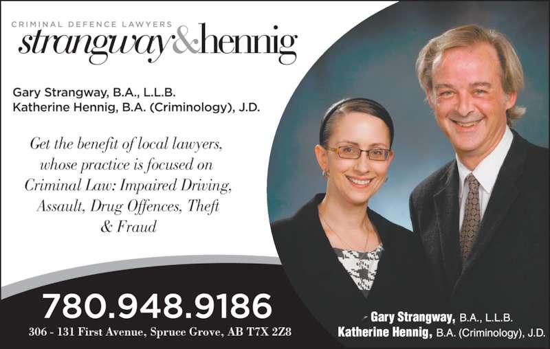 Strangway & Hennig Law Office - Spruce Grove, AB - 306-131