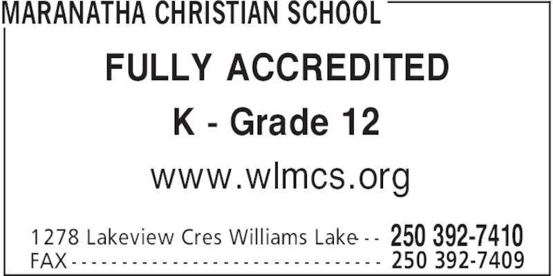 williams lake christian singles Christian reformed church find a church find a ministry  cariboo community church church address: 35 oliver st williams lake, bc v2g 1l6.