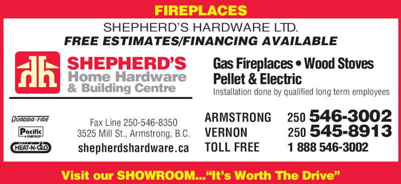 Ads Shepherd's Home Hardware Building Centre