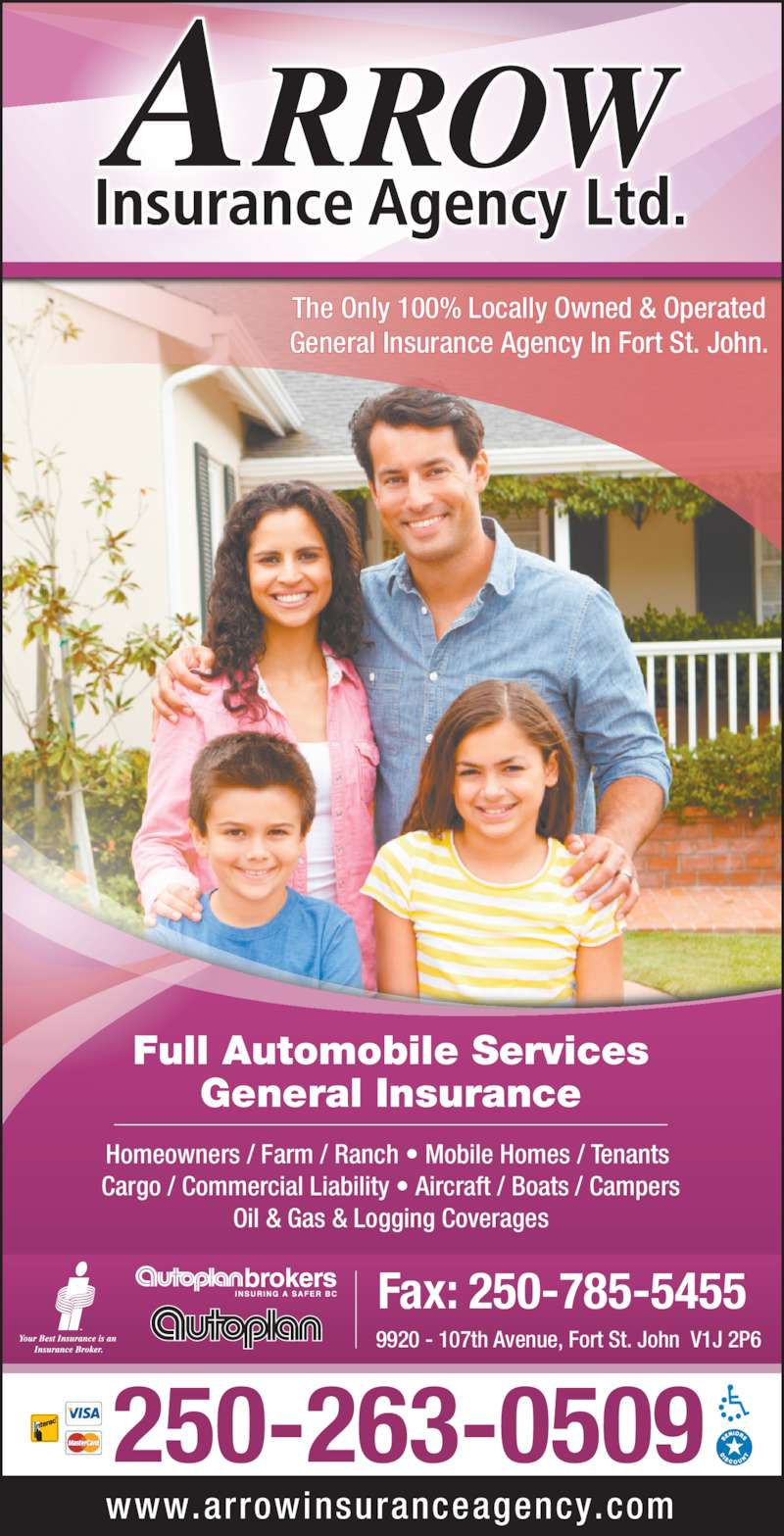 Automobile Insurance Companies >> Arrow Insurance Agency Ltd - Opening Hours - 9920 107 ...