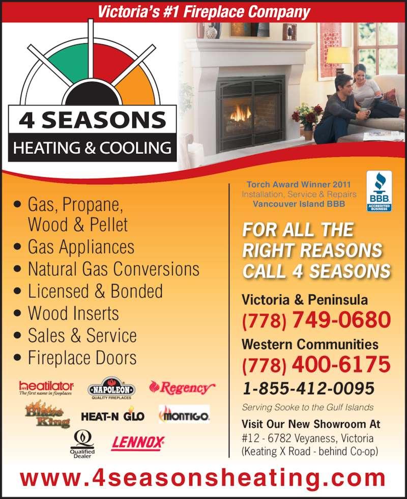 4 Seasons Mechanical Contractors - Opening Hours - 12-6782 ...