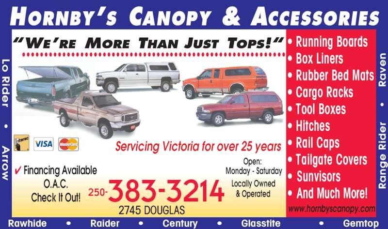 Hornby S Canopy City Victoria Bc 2745 Douglas St