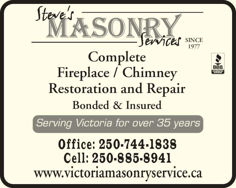 Chimney Masonry Repair Mississauga