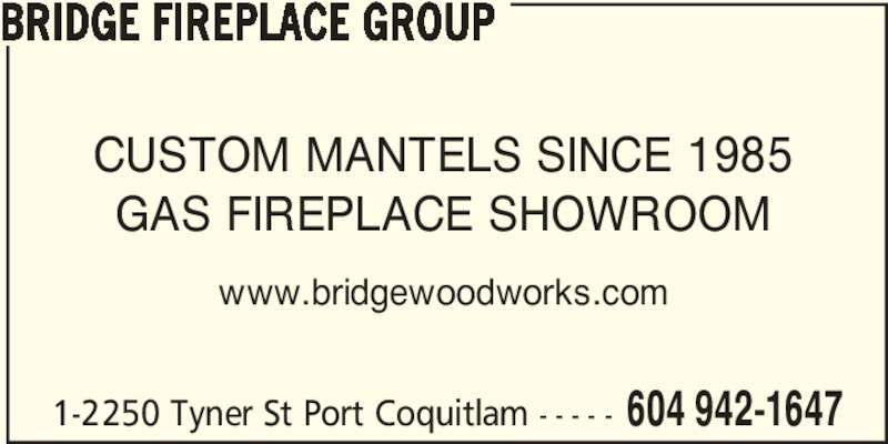 Ads Bridge Woodworks Mfg. Ltd
