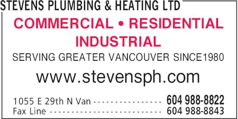 Ads Stevens Plumbing & Heating Ltd
