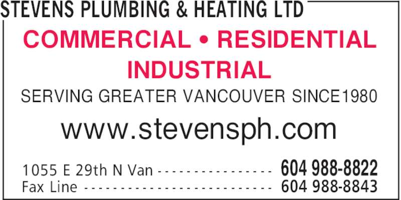 ad Stevens Plumbing & Heating Ltd