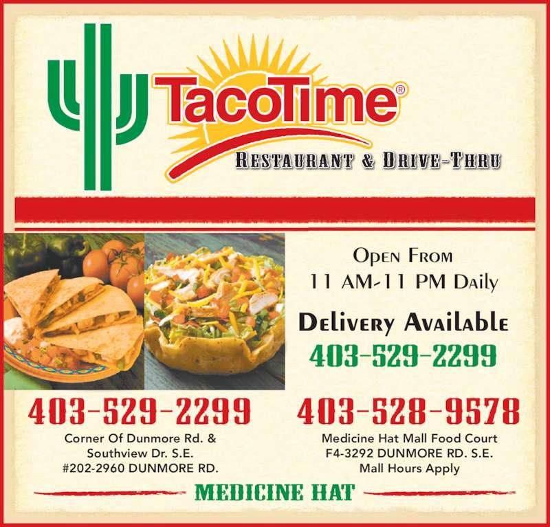 Medicine Hat Food Delivery Services