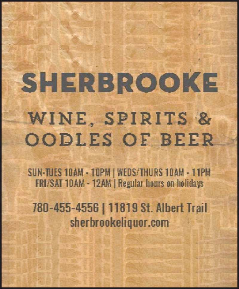 Sherbrooke Liquor Store (780-455-4556) - Display Ad -