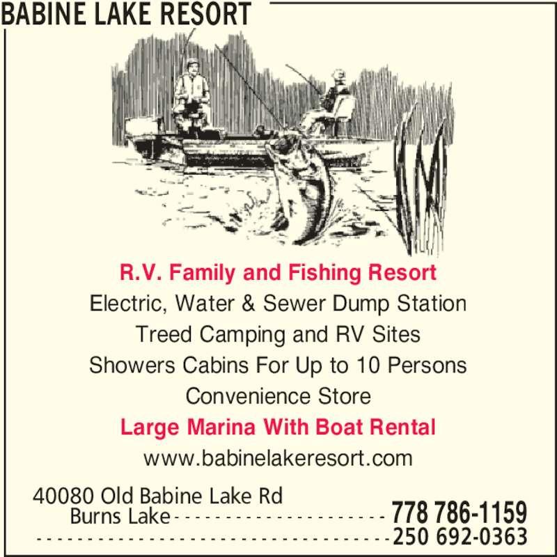 Babine Lake Resort Burns Lake Bc 40080 Old Babine