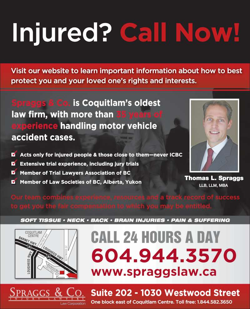Spraggs & Co Law Corp (6044643333) - Display Ad -