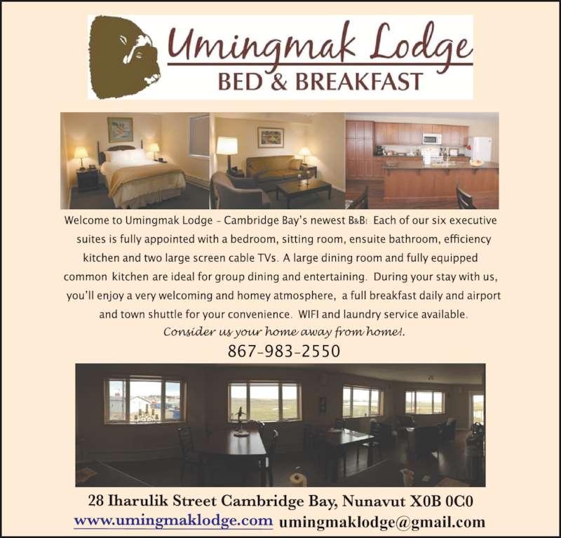 Umingmak Lodge (8679832550) - Display Ad -