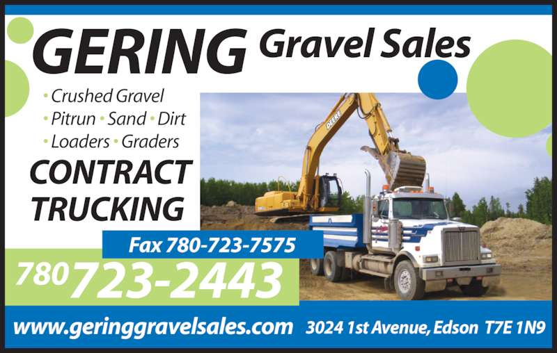 Ads Gering Gravel Sales