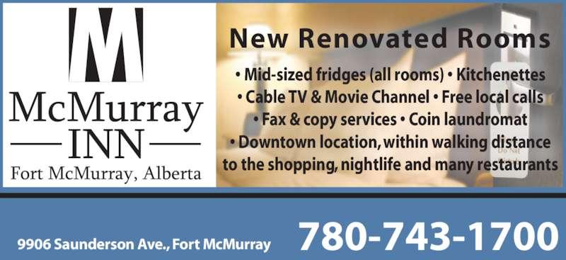 Ads McMurray Inn