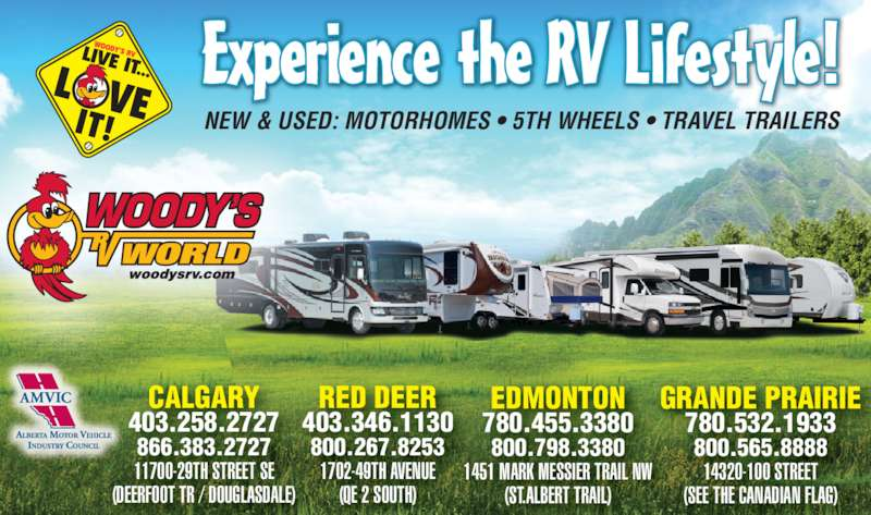 Woodys Rv World >> Woody's RV World Calgary - Calgary, AB - 11700 29 St SE | Canpages