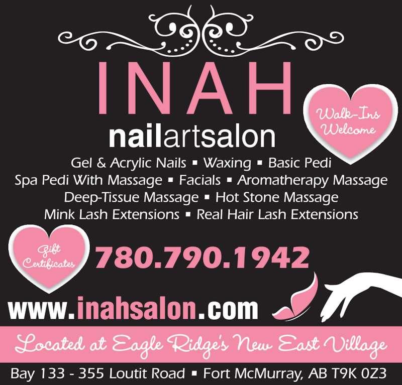 Nail Art Opening Times: Inah Nail Art Salon Ltd