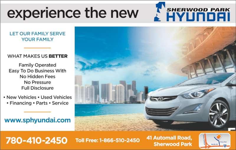 Sherwood Park Hyundai (780-410-2450) - Display Ad -