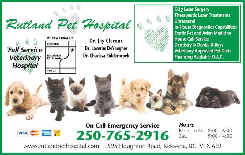 Ads Rutland Pet Hospital Ltd