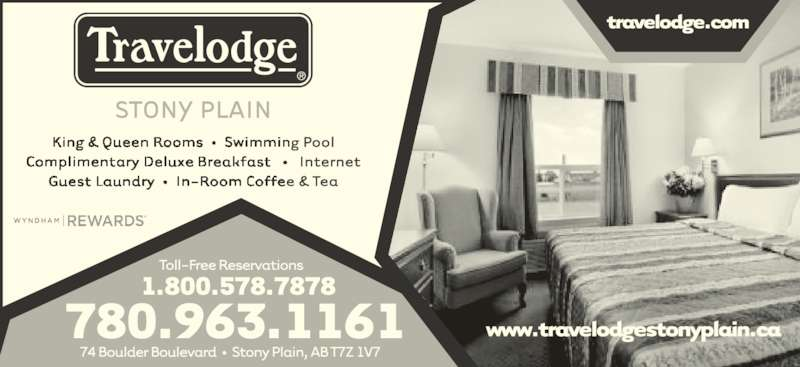 Travelodge (780-963-1161) - Display Ad -