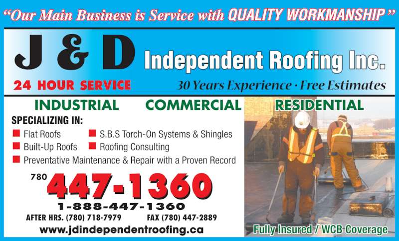 ad J D Independent Roofing Inc