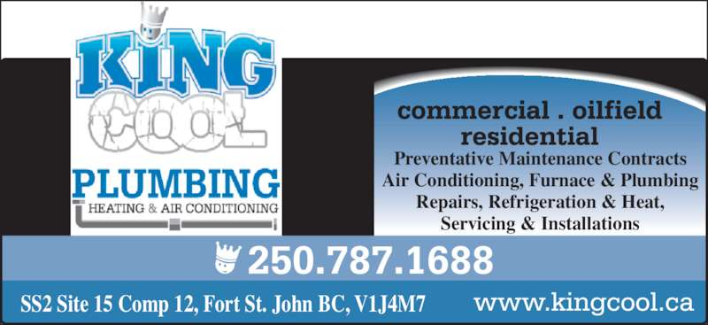 King Cool Refrigeration Amp Air Conditioning Ltd Fort St