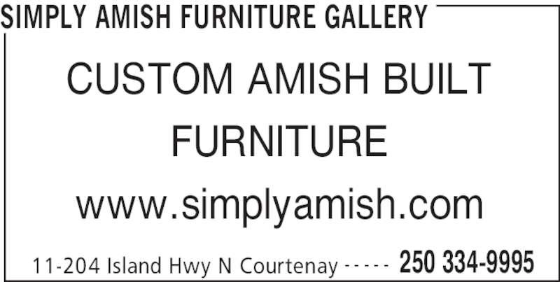 Amish Furniture Vancouver Island Bc