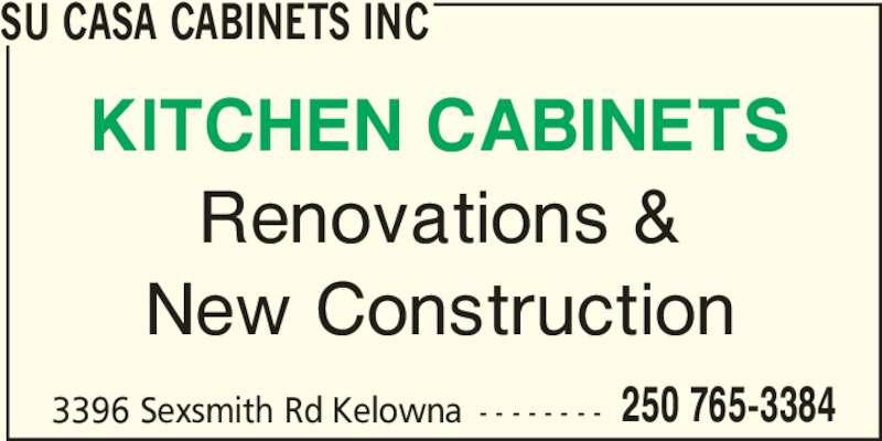 Ads Su Casa Cabinets Inc