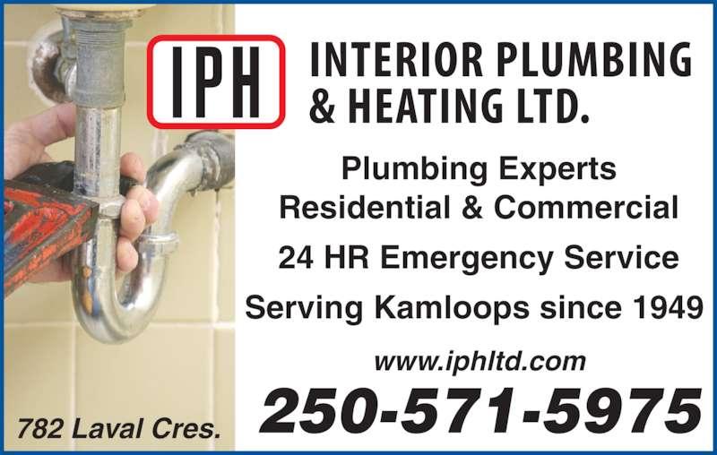 Interior Plumbing Amp Heating Ltd Kamloops Bc 782 Laval