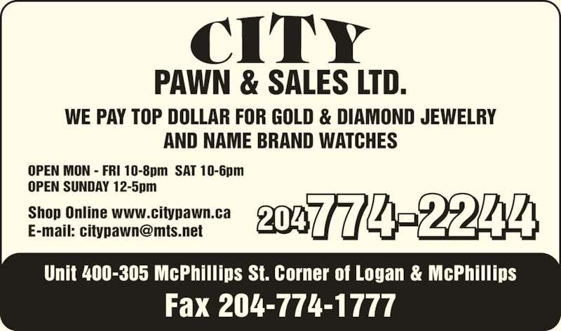 Ads City Pawn & Sales Ltd