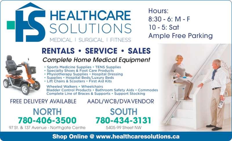 healthcare solutions   edmonton ab   5920 gateway blvd nw