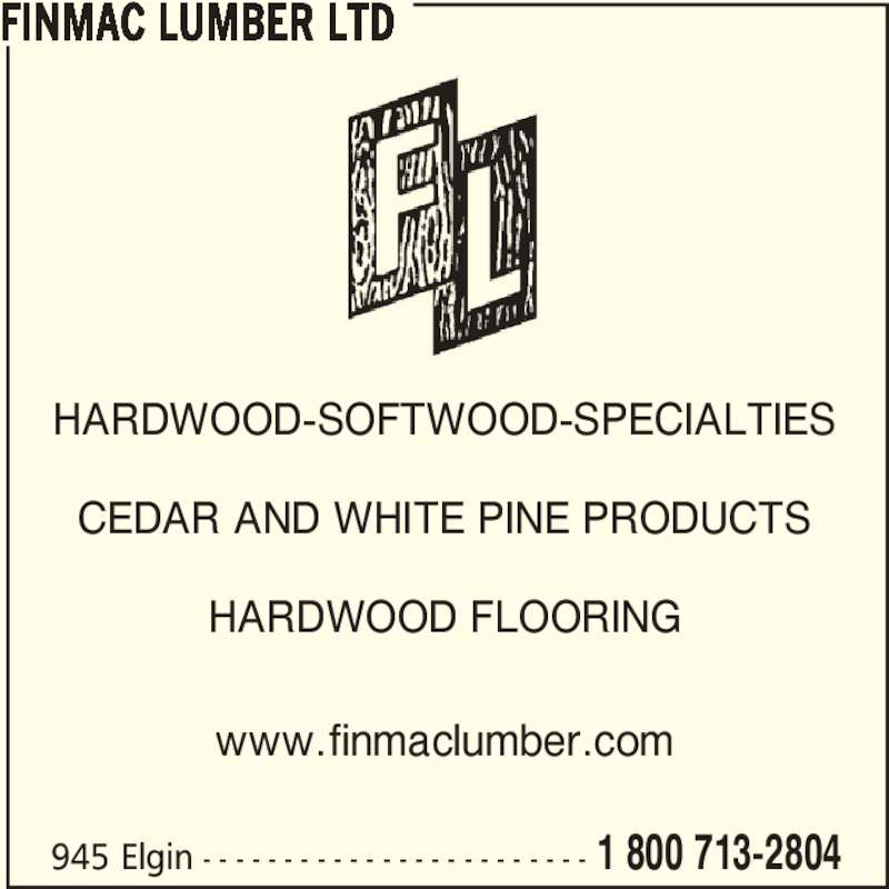 Finmac Lumber Ltd - Winnipeg, MB - 945 Elgin Ave | Canpages