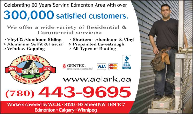 ad A Clark Roofing And Siding LP