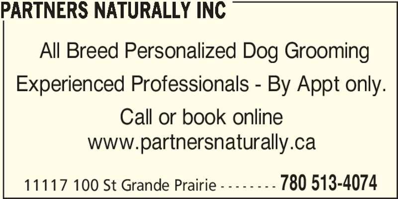 Partners Naturally Inc (780-513-4074) - Annonce illustrée======= -