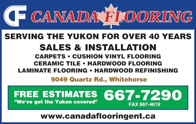 Ads Canada Flooring Enterprises Ltd