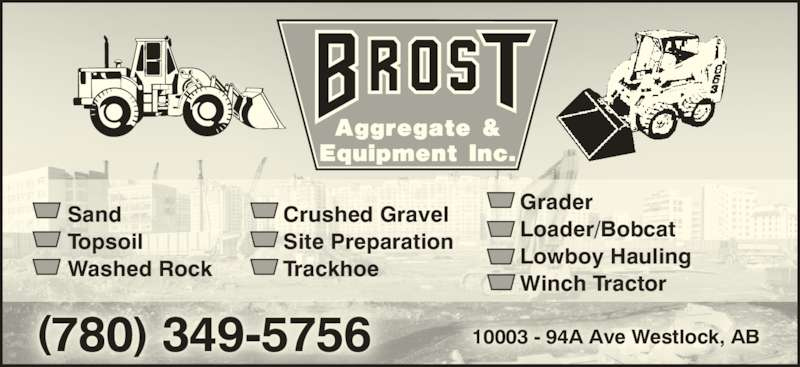 Ads Brost Aggregate & Equipment Inc