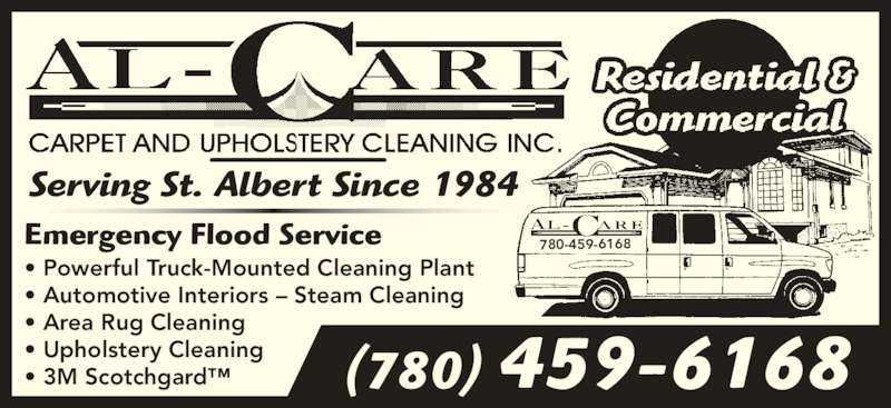 Al Care Carpet Amp Upholstery Cleaning Inc St Albert Ab