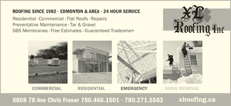 ad XL Roofing