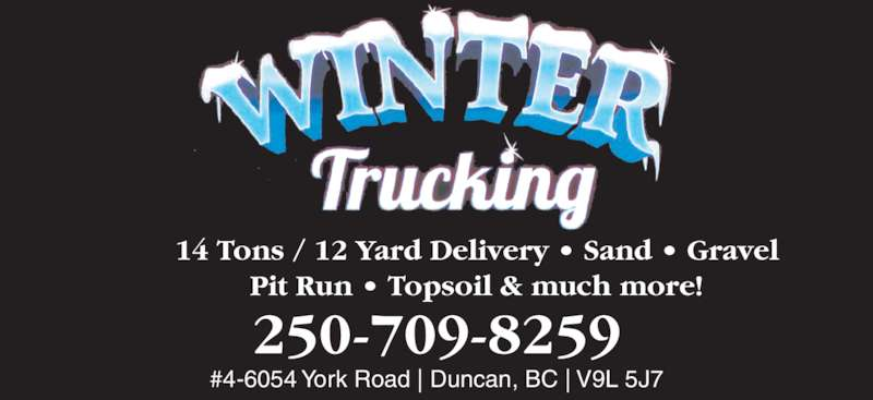 Ads Winter Trucking