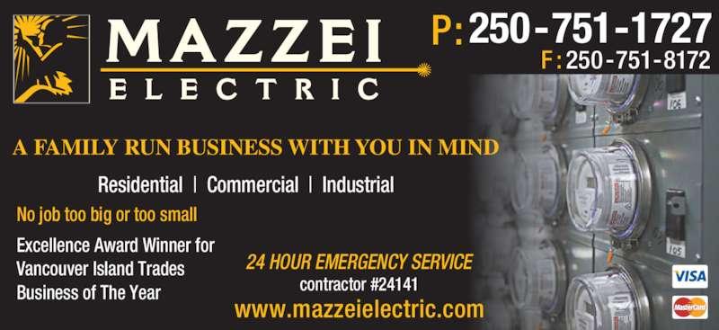 Mazzei Electric Nanaimo Bc 10 1850 Northfield Rd