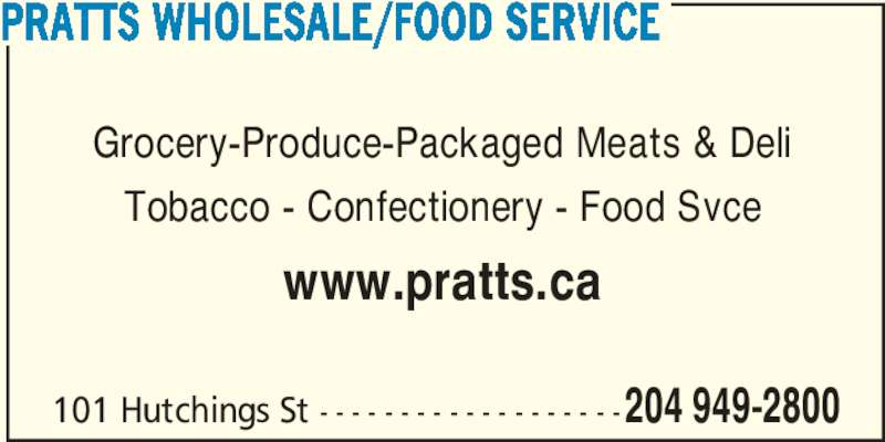 Pratts Food Service